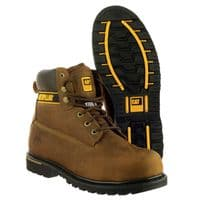 Caterpillar CAT Holton S3 Goodyear Welted Safety Brown